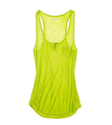 Aerie Pocket Hi-Lo Tank - Take 25% Off