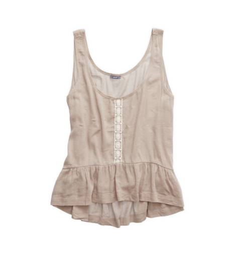 Terrace Aerie Lace Trim Tank