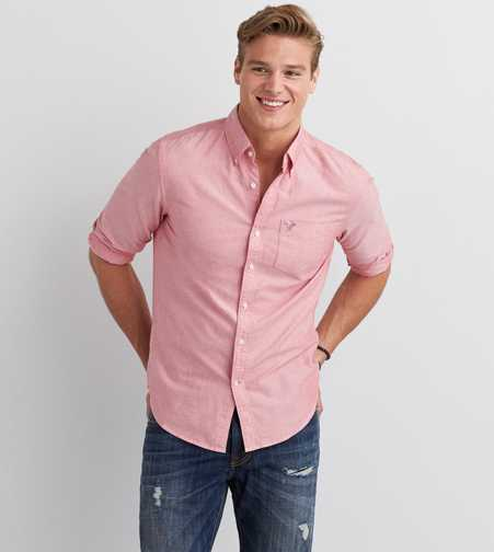 AEO Oxford Button Down Shirt  - Buy One Get One 50% Off
