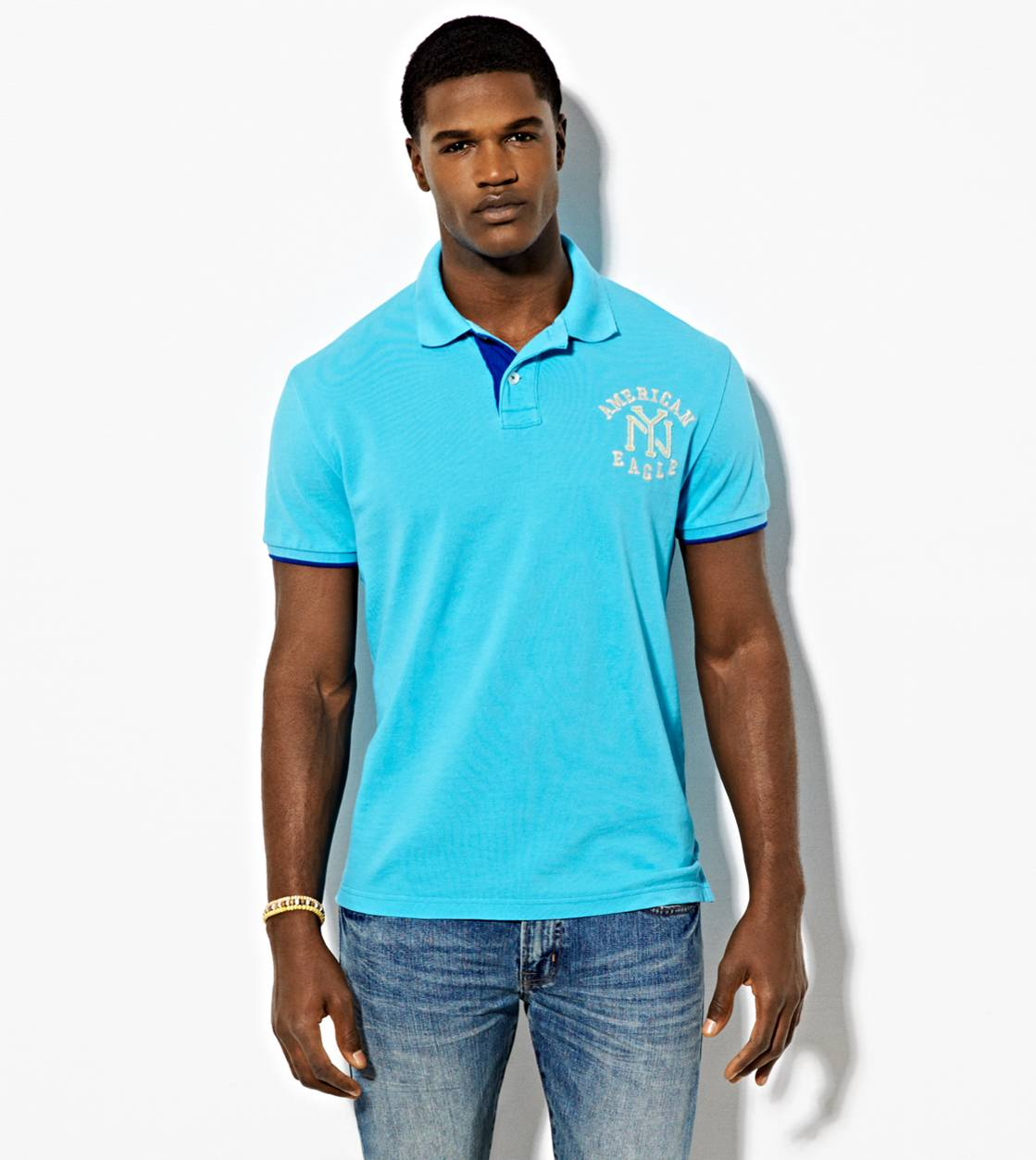 Tidal Blue AE NYC Polo