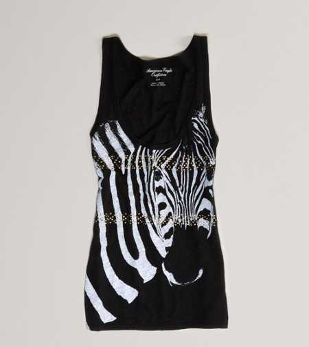 AE Studded Graphic Tank