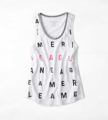 AEO Real Soft® Stamp Graphic Tank
