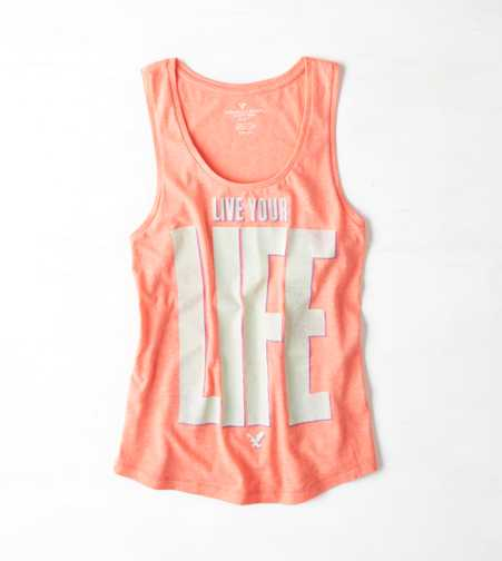 AEO Real Soft® Statement Graphic Tank