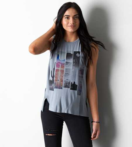 AEO Soft & Sexy Graphic Tank