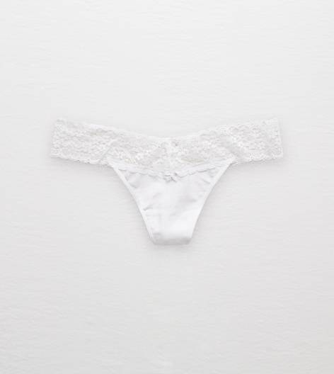 Air White Aerie Thong