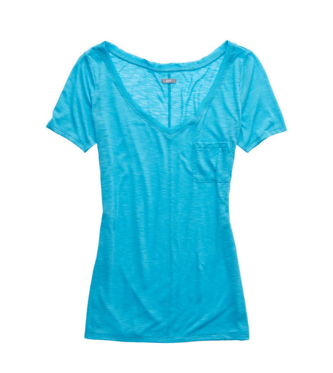 Primal Aerie Slim Fit V-Neck Pocket T-Shirt