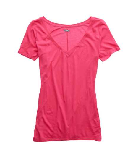 Aerie Slim Fit V-Neck T-Shirt