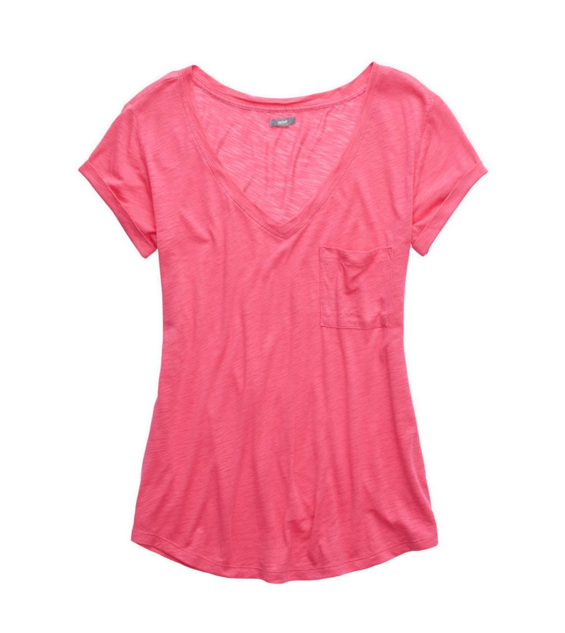 Sweetheart Aerie Boyfriend V-Neck T-Shirt