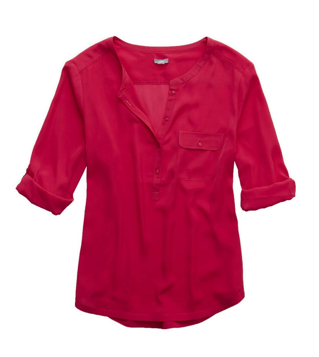 Ruby Stone Aerie Silky Button Down Shirt