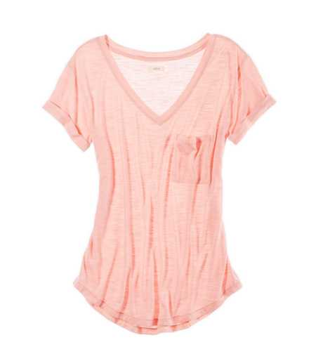 Aerie Perfect Striped Boyfriend Tee