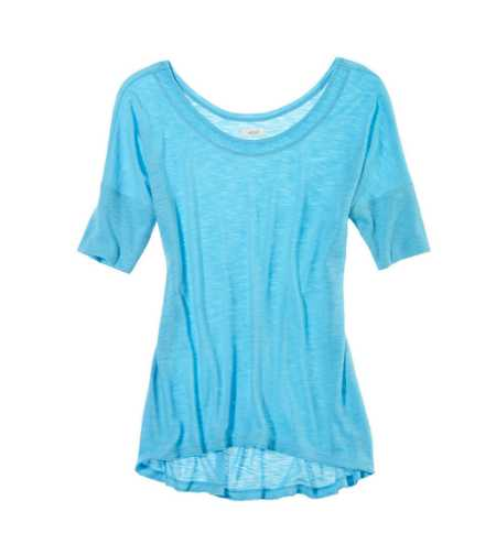 Aerie Dolman Hi-Lo Tee - Take 25% Off