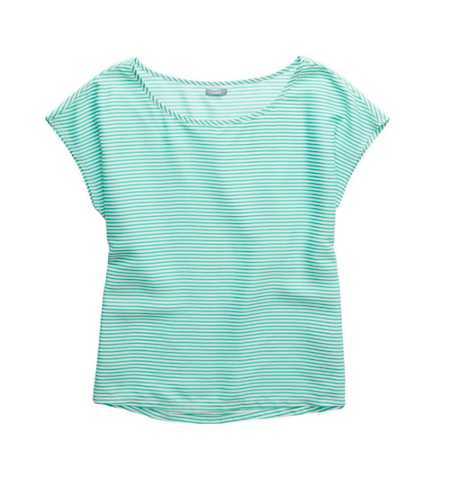 Aerie Striped Boxy T-Shirt