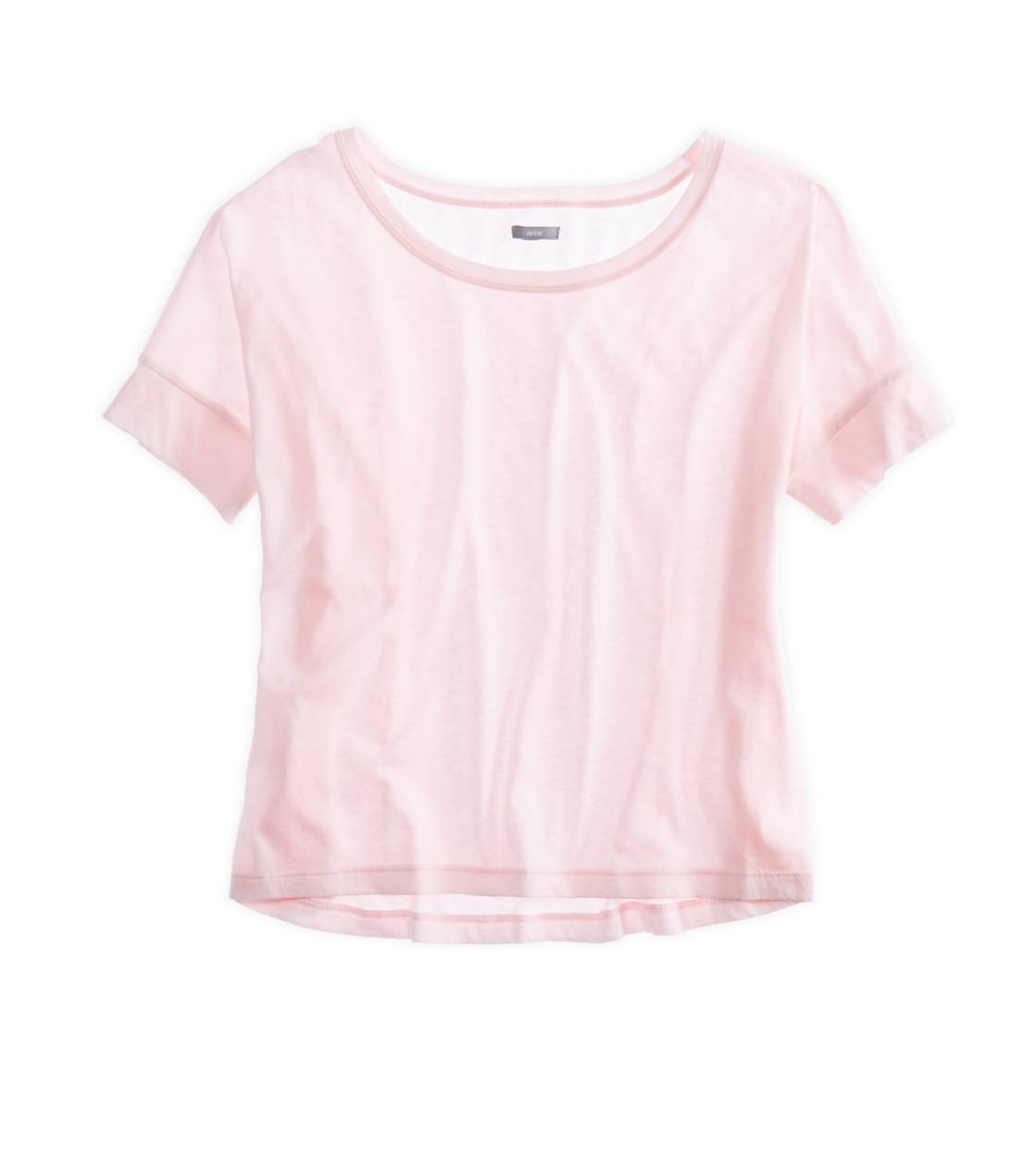 Pink Tinsel Aerie Crop T-Shirt