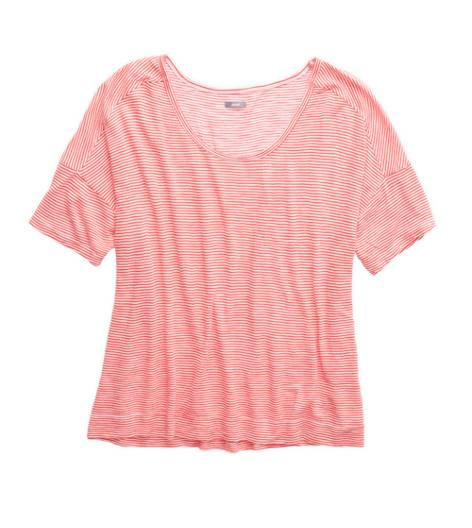 Calypso Aerie Striped Dolman T-Shirt