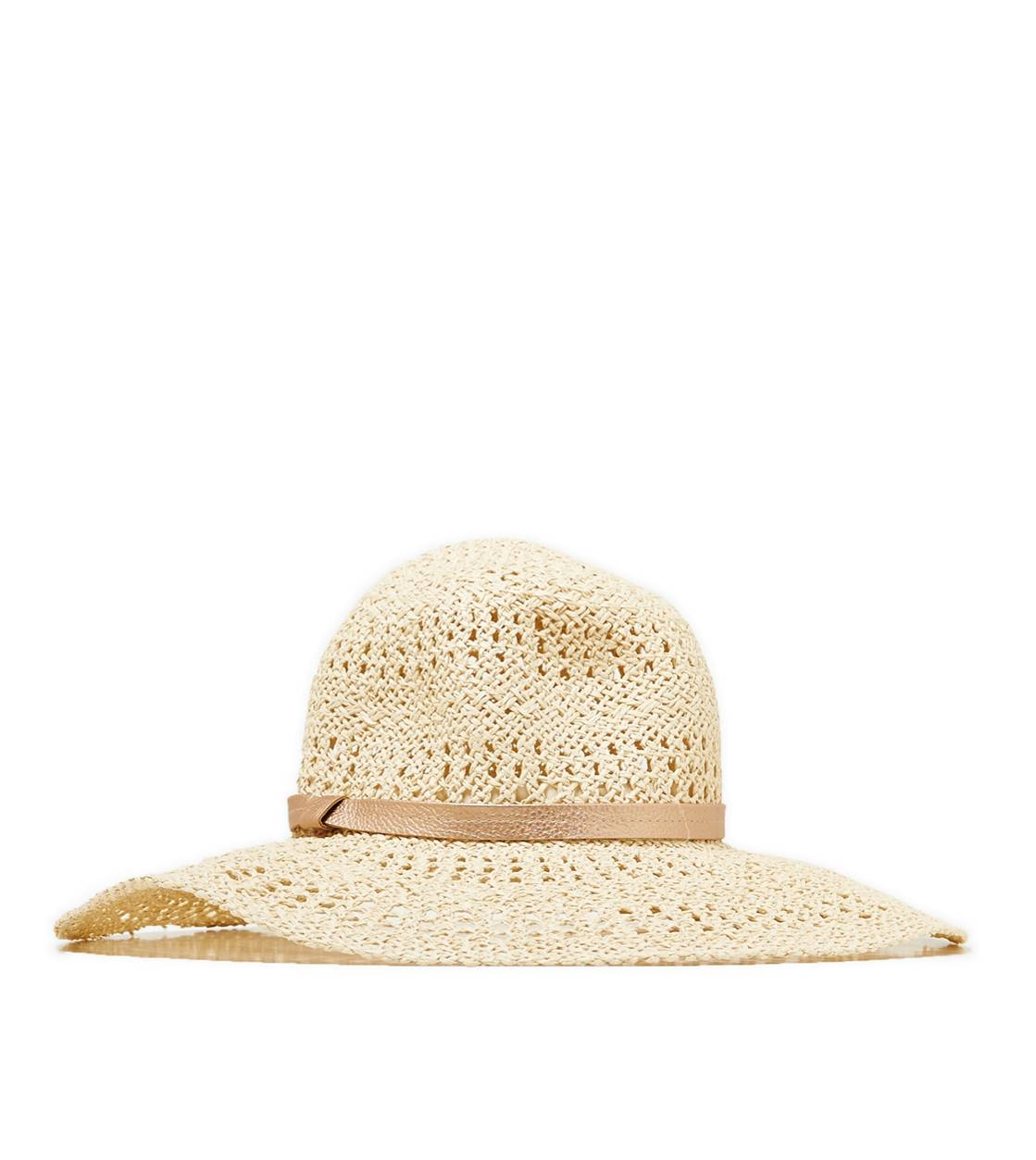 Straw Aerie Floppy Hat