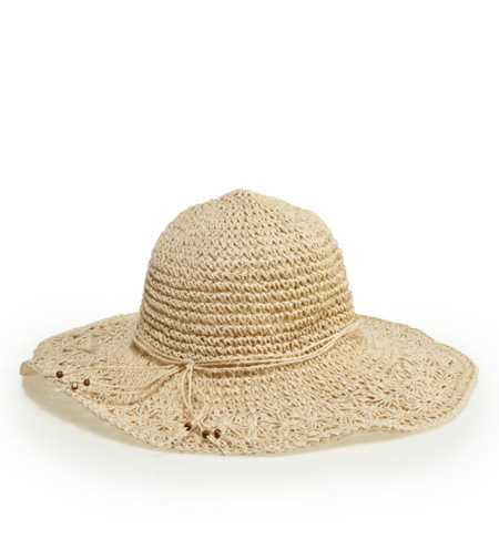 Aerie Crocheted Beach Hat