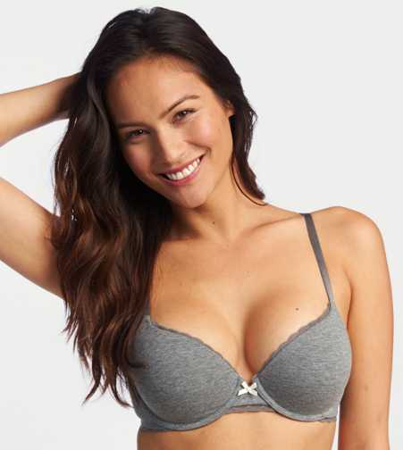 Harper Cotton Pushup Bra - Free Shipping & Returns