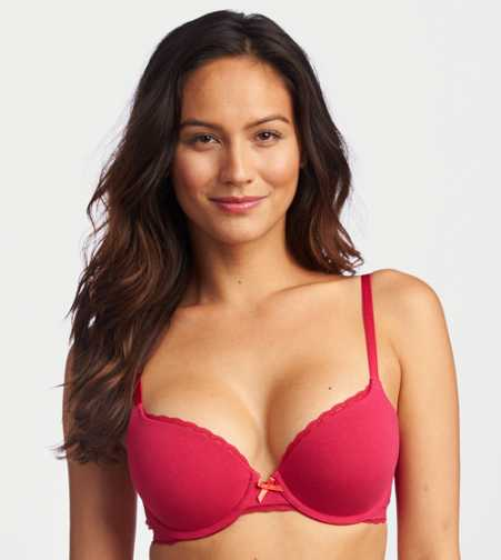 Harper Cotton Pushup Bra - Buy One Get One for $10!