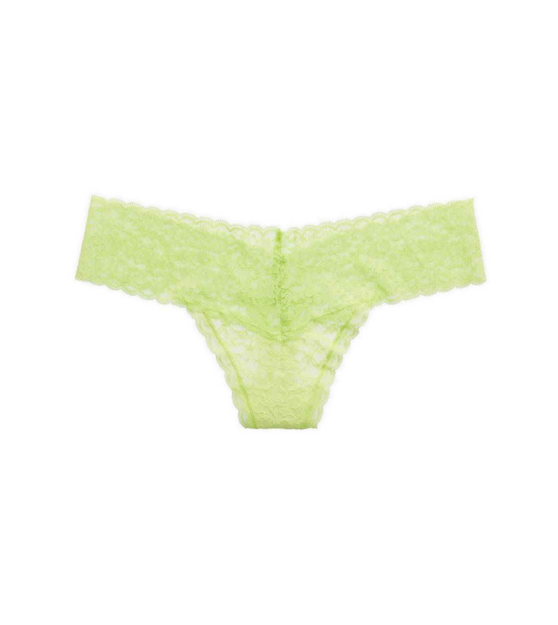 Sharp Green Aerie Vintage Lace Thong