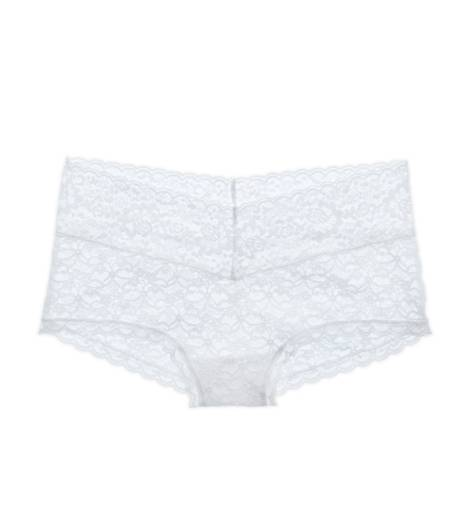 White  Aerie Girly Short