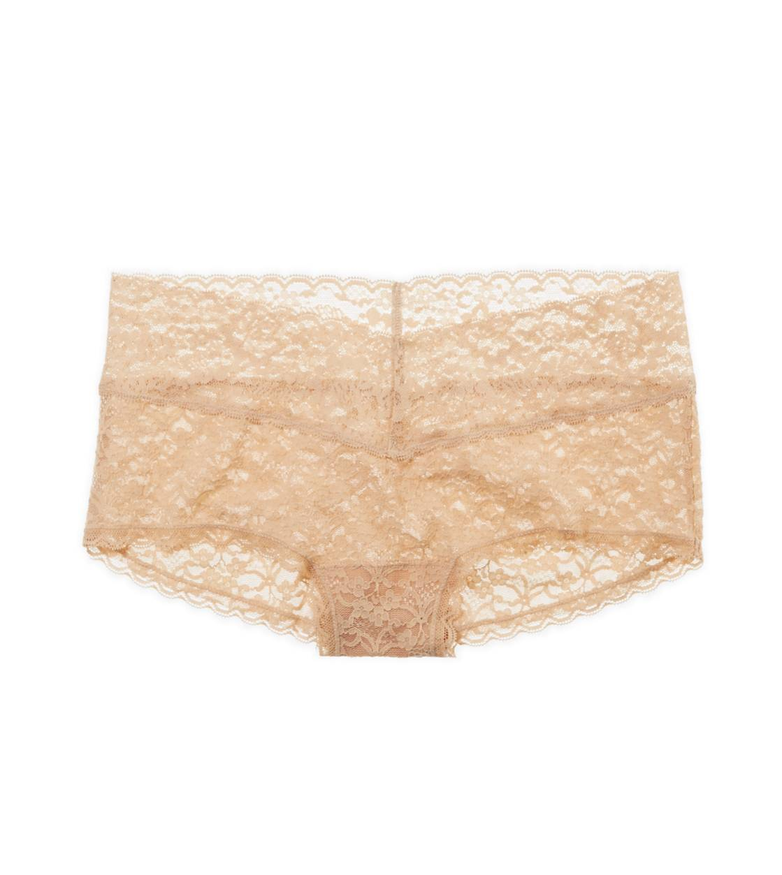 Natural Nude Aerie Vintage Lace Girly Short