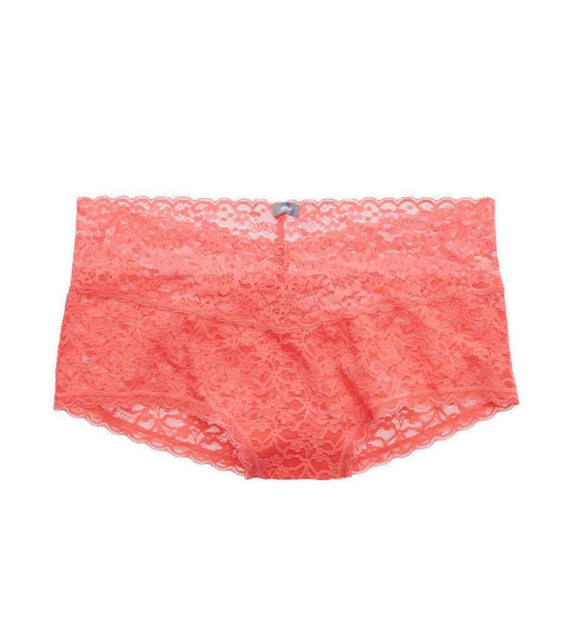 Whipped Strawberry Aerie Vintage Lace Girly Short