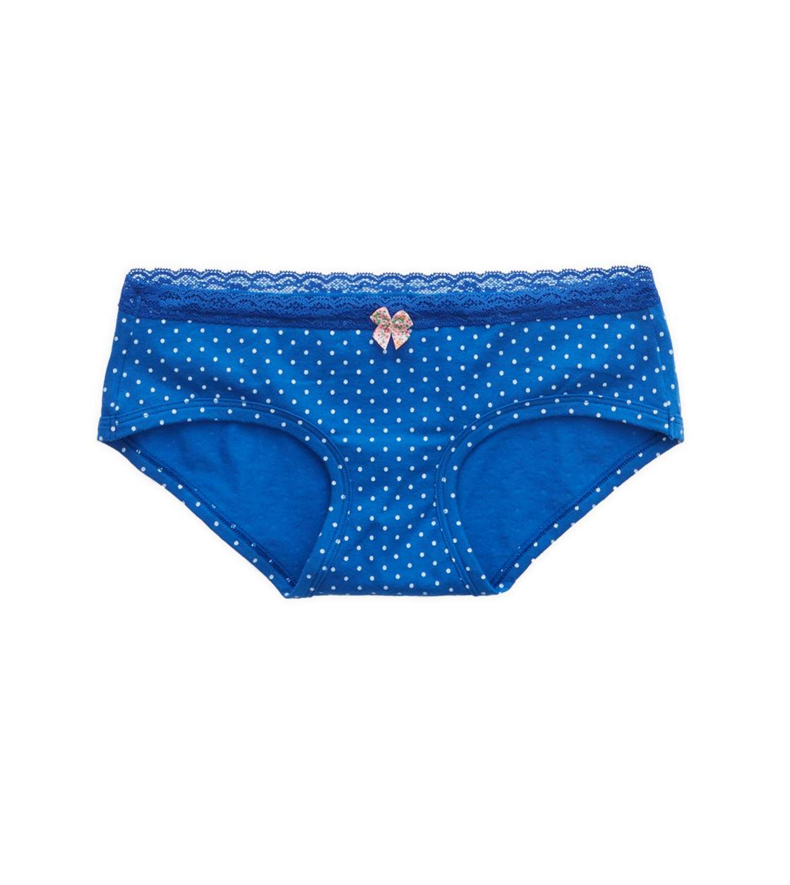 Blue Stead Aerie Lace Trim Boybrief