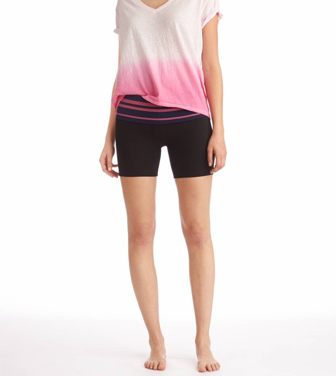 Royal Navy Aerie Neon Stud Midi Yoga Short