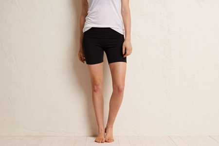 Aerie Slim Gym Yoga Midi Short - Take 25% Off