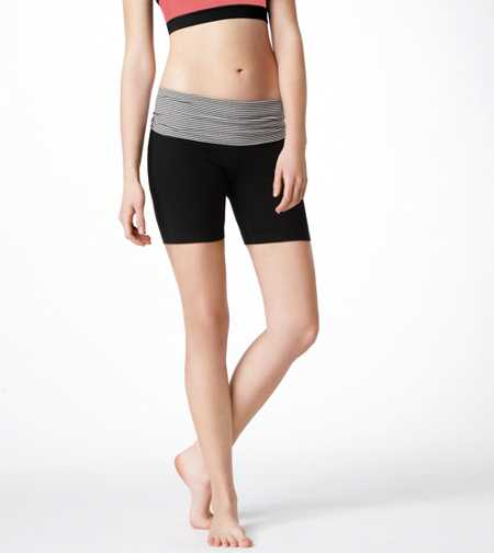 Aerie Slim Gym Yoga Midi Short