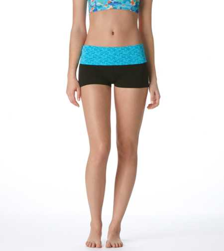 Aerie Slim Gym Yoga Lace Shortie - Take 40% Off