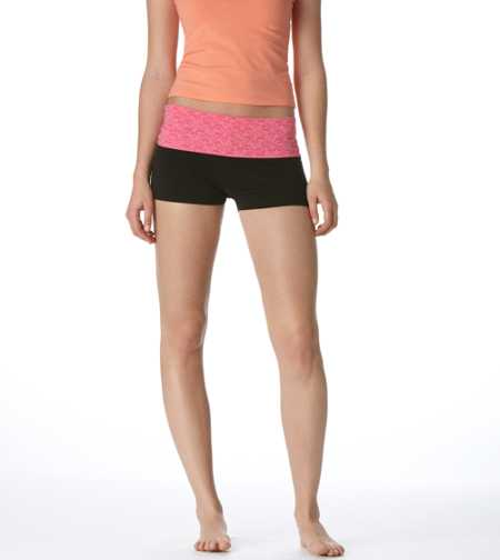 Aerie Slim Gym Yoga Lace Shortie