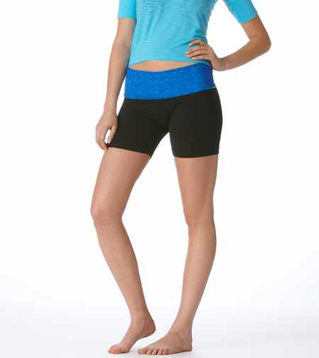 Aerie Slim Gym Yoga Lace Midi Short