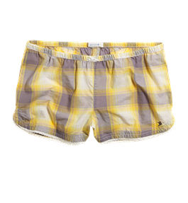 Aerie Plaid Girly Boxer - aerie :  sleep