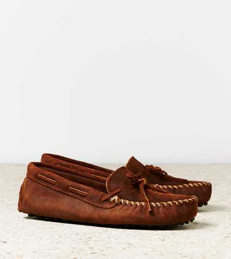 Minnetonka Original Cowhide Driving Moc