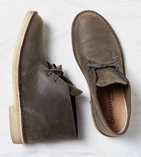 Grey Clarks Originals Desert Boot
