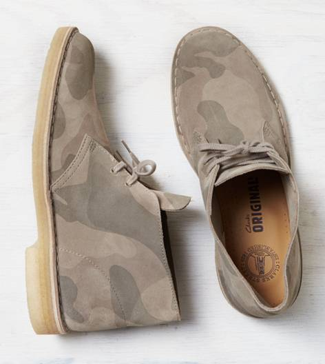 Sand Clarks Originals Camo Desert Boot