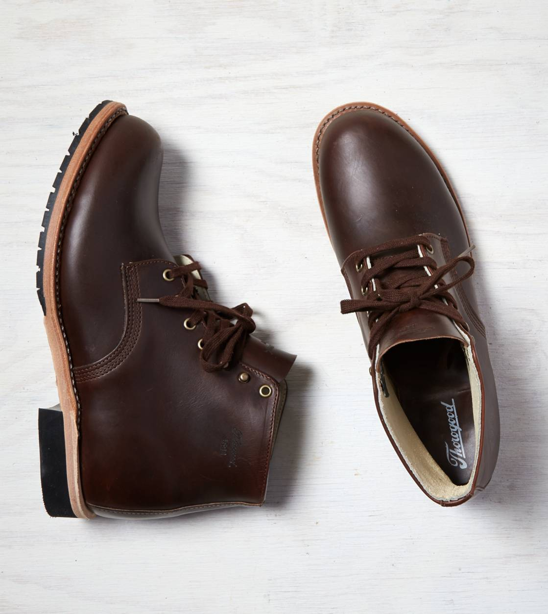 Brown Thorogood 1892 Boot