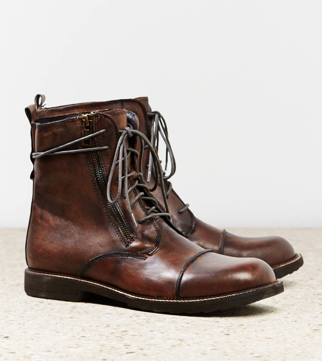 Brown Bed Stu Patriot Boot