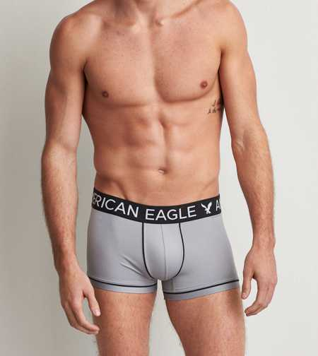 AEO Mens Solid Flex Trunk