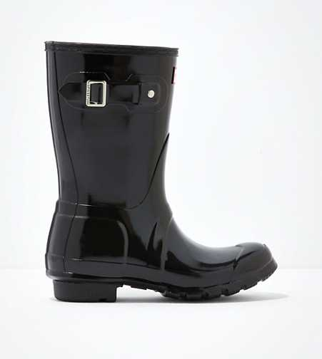 Hunter Original Short Gloss Rain Boot  - Free Shipping