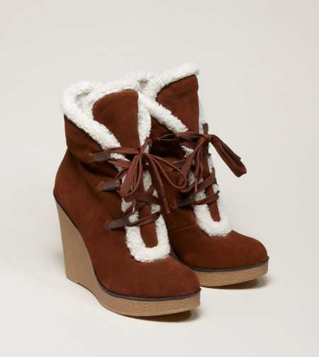 MIA Glenda Lace-Up Bootie