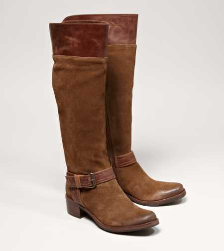 Matisse Over-The-Knee Buckle Boot