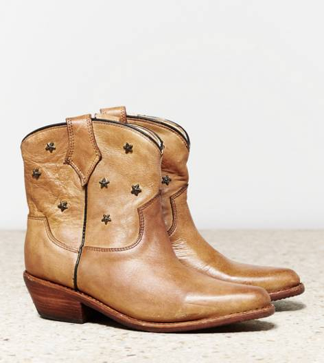 Tan Bed Stu Gazelle Western Boot
