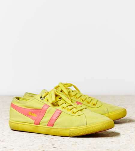 Gola Quota Neon Sneaker - Free Shipping On Shoes