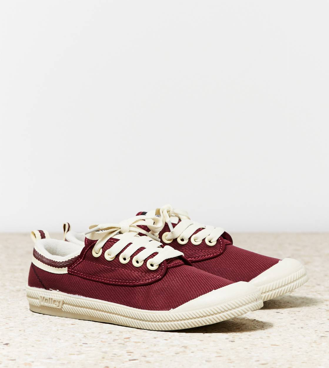 Burgundy Volley International Sneaker