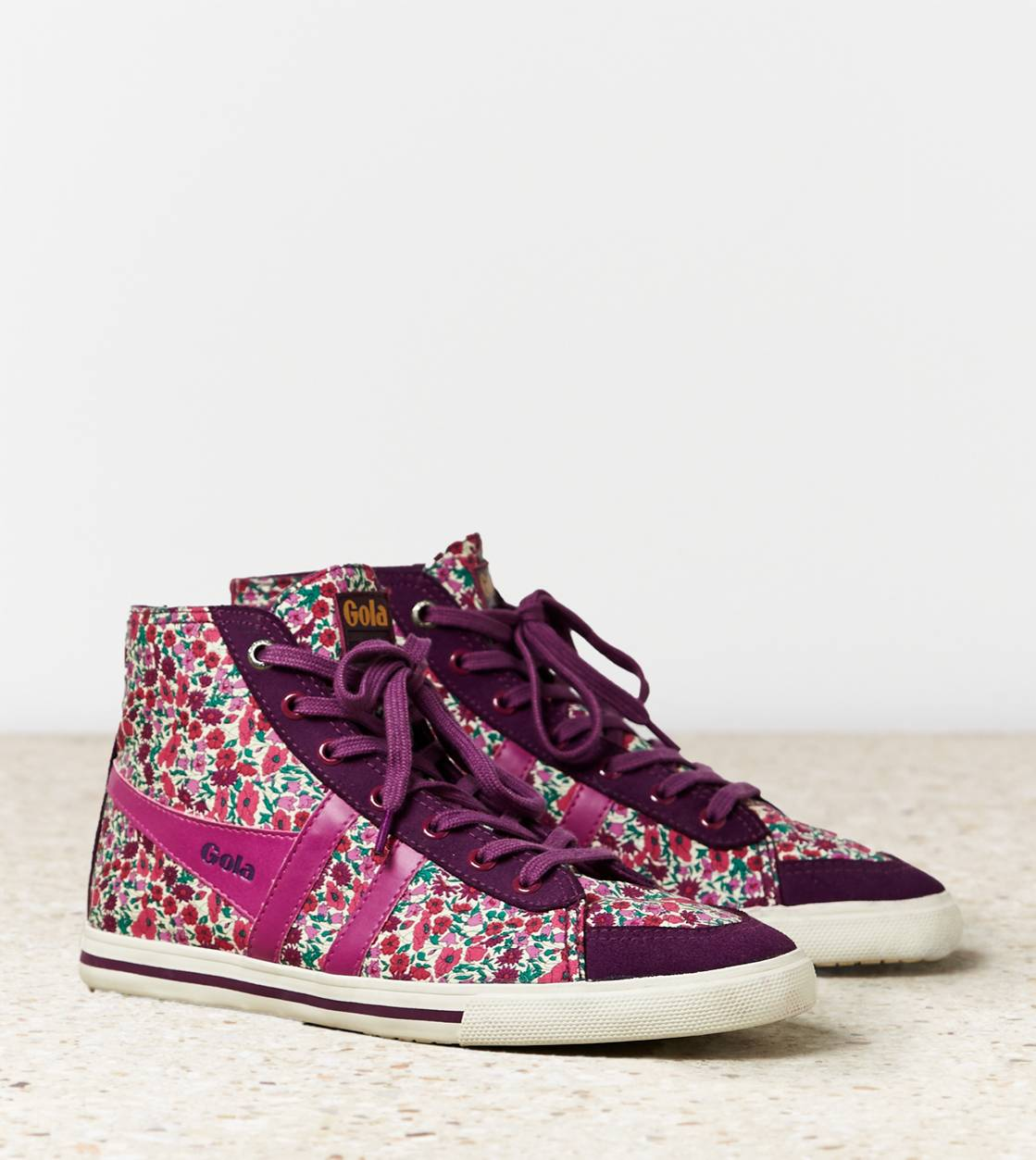 Berry Gola Liberty Quota High Top Sneaker