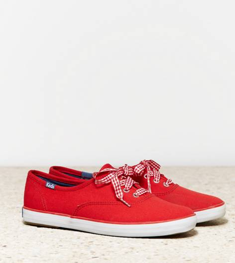 Bright Red Keds Champion Originals Sneaker