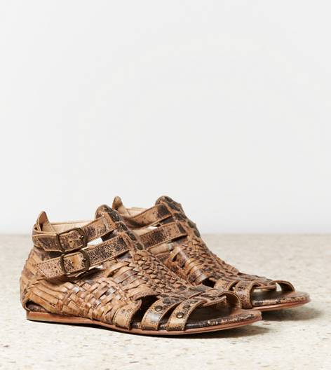 Brown Bed Stu Claire Sandal