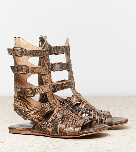 Brown Bed Stu Aurelia Sandal